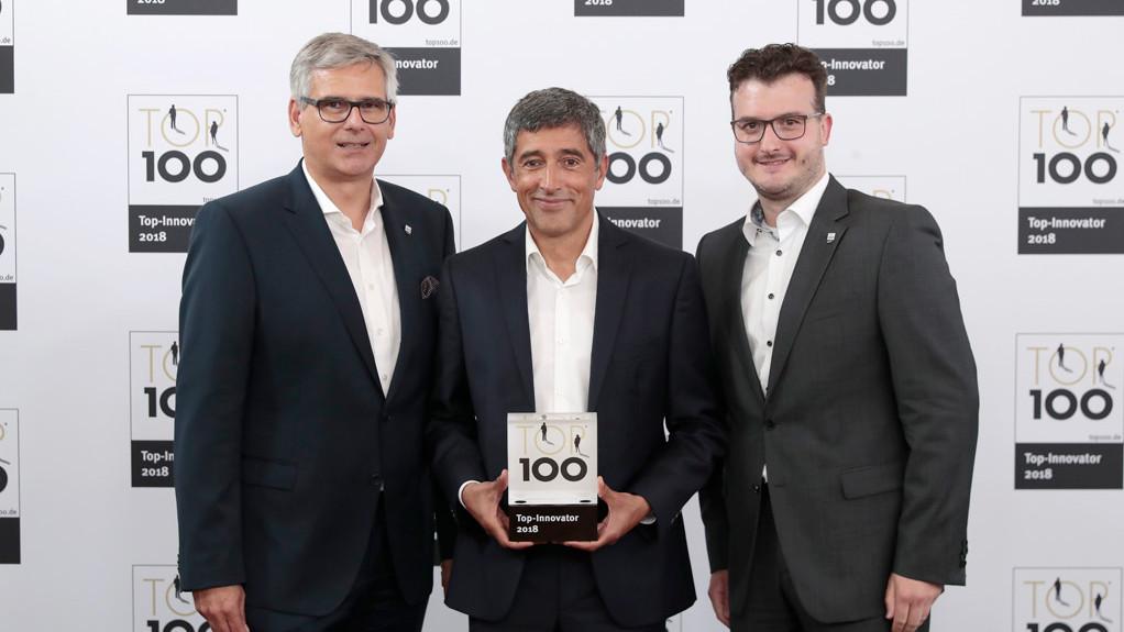 [Translate to Japanisch - 日本人:] Top 100 Award